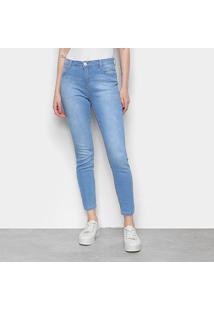 Calça Jeans Skinny Hering Estonada Feminina - Feminino