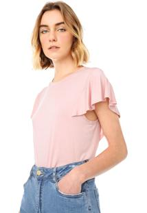 Blusa Banana Republic Soft Stretch Rosa