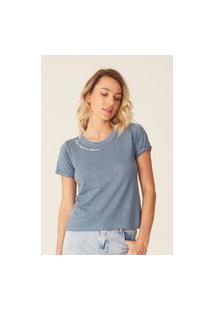 Camiseta Oneill Feminina Especial Surf & Tell Azul