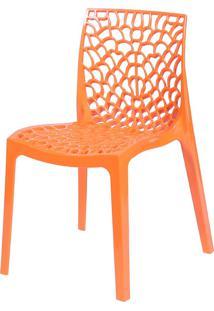 Cadeira Gruvyer S6316 – Or Design. - Laranja