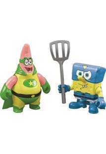 Imaginext Bob Esponja Mattel Super Herói
