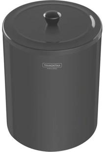 Lixeira Inox Polido Black 5L - 94540/052 - Tramontina - Tramontina