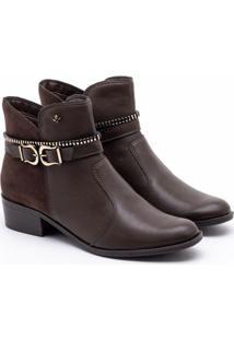 Ankle Boot Cravo & Canela Cacau 34
