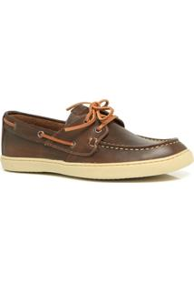 Mocassim Masculino Estilo Dockside Keep Shoes- 1100 Cor Café - Masculino