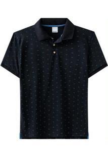 Camisa Preto Malwee