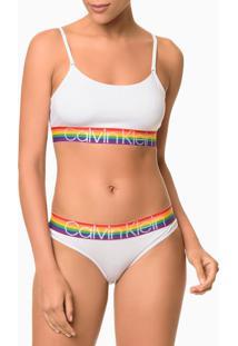 Top Alças Modal Pride - Branco - M