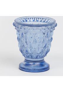 Luminária Le Lis Blanc Casa Bizantino Azul (Blue, Un)
