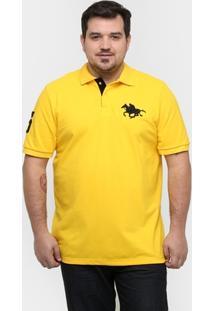 Camisa Polo Rg 518 Piquet Plus Size Masculina - Masculino