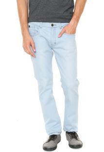 Calça Jeans Rusty Slim Tape Azul