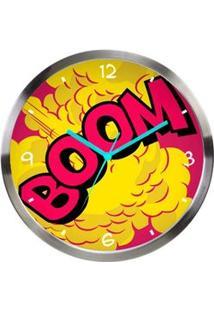 Relógio De Parede Onomatopeia Quadrinhos Hq Dc Comics