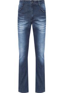 Calça Masculina Slim Dubai - Azul
