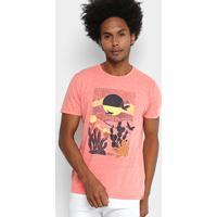 148d33fc9 Camiseta Colcci Estampada Masculina - Masculino-Vermelho