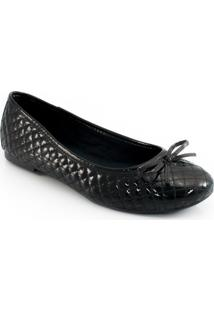 Sapatilha Verniz Sapato Show 10236