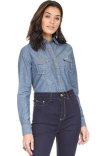 Camisa Jeans Principessa Nina