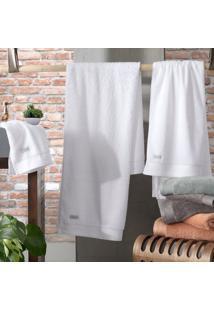 Toalha De Rosto Altenburg Tencel – Branco Branco