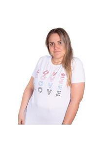 Camiseta Birdz Estampada Branca
