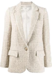 Isabel Marant Étoile Blazer De Tweed - Neutro