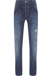 Calça Masculina Skinny Steyr - Azul