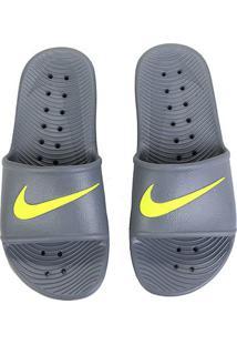 Sandália Nike Kawa Shower - Masculino-Cinza Claro