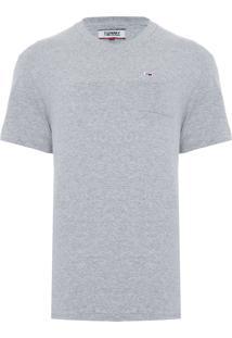 Camiseta Masculina Classics - Cinza