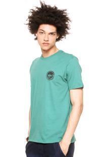 Camiseta Quiksilver Watermarked Verde