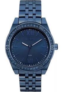 d0c17da0f84 Relógio Digital Azul Azul Marinho feminino