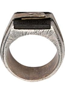 Tobias Wistisen Stacked Ring - Prateado