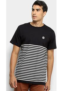 Camiseta Element Stripe Masculina - Masculino