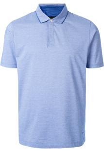 D'Urban Camisa Polo Mangas Curtas - Azul