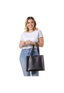 Bolsa Feminina Alice Monteiro Dubai - Preta