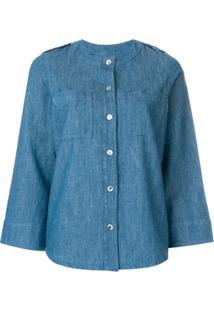 A.P.C. Blusa Jeans - Azul