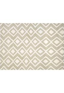 Dhurie Moroccan 8 Beige/White