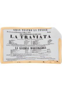 Fornasetti Prato La Traviata - Cinza