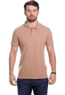Camisa Polo Javali Caqui Basic