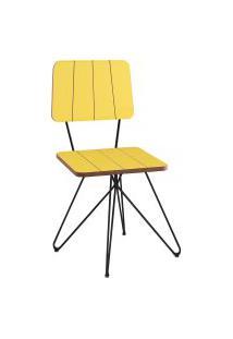 Cadeira De Jantar Costela Daf Mobiliário Meia Lua