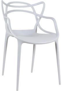 Cadeira Masters Allegra - Cinza Claro