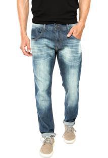 Calça Jeans Biotipo Stonewashed Azul