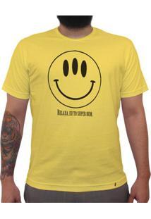 Relaxa, To Super Bem - Camiseta Clássica Masculina