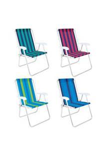 Cadeira Alta Conforto Alumínio