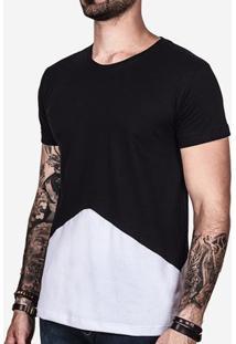 Camiseta Recorte Branco 101320