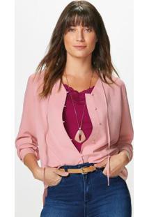 Camisa Rosa Claro