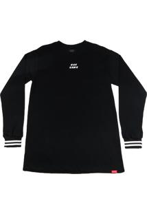 Camiseta Outlawz Longsleeve Breezed Preta