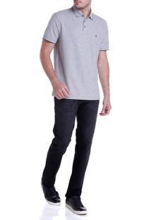 Calca Dudalina Jeans Clean Washed Black Masculina (Jeans Black Medio, 48)