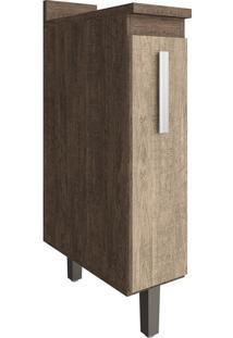 Porta Condimentos De 20 Cm Nc105 Freijó/Acácia - Decibal Móveis