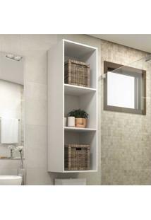 Nicho Banheiro 44 X 131 Cm Atacama Multimóveis Branco