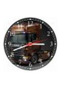 Relógio De Parede Caminhão Veículos Decorações Salas Quartos