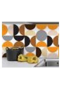 Adesivo De Azulejo 20X20 Para Cozinha - Círculos 24Un