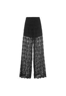 Calça Feminina Pantalona Sophia - Preto