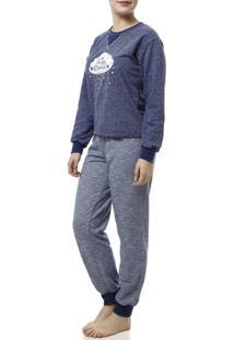 Pijama Longo Luare Mio Feminino - Feminino