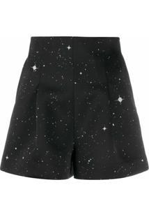 Christopher Kane Camisa Com Estampa De Constelação - Preto